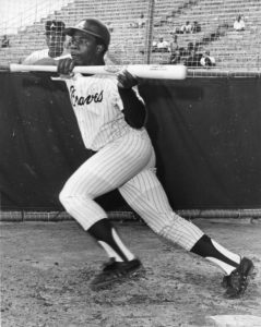 Ralph Garr of the Atlanta Braves. AJC archive/Marion Johnson/staff. Circa 1972